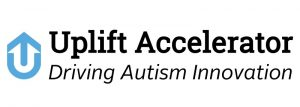 Uplift Innovation: Driving Autism Innovation. Logo.
